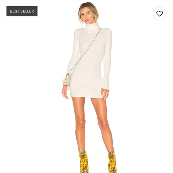 Lovers + Friends Unstoppable Dress Marshmallow